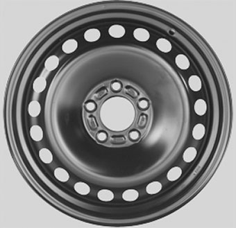 Wheel 6,5X16 KRONPRINZ 5/108   ET52,5 CH63,3