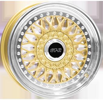 RS601 GOUD / GEPOLIJST