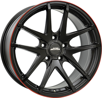 CERCHIO 8,5X18 IA RED HOT 5/114,3 ET40 CH73,1