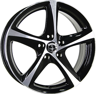 WHEEL 6,5X16 IA TORNADO BLACKPO WP 919 4X098 ET 35