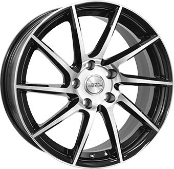 WHEEL 7,5X17 INTER ACTION RV10 5/100  ET35 CH57,1