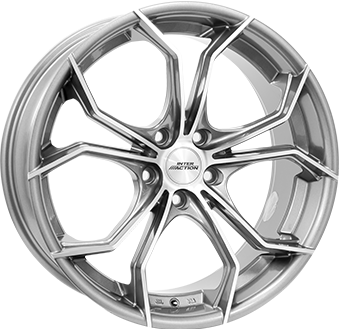Wheel 8,0X17 I.A. TWIST 5/114,3 ET40 CH73,1