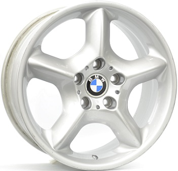 BMW STYLE 57 ZILVER