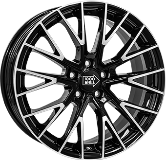 Wheel 8,0X17 MILLE MIGLIA 1009 5/108   ET40 CH72,2