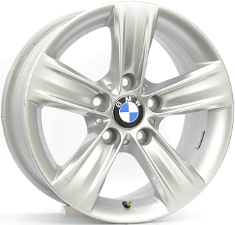 BMW STYLE 391 ZILVER