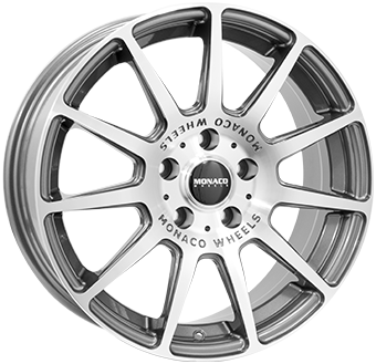 Wheel 7,0X17 MONACO RALLYE 5/114,3 ET42 CH67,1