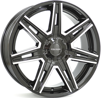 Wheel 8,5X20 CRUISER PARDIGM 5/114,3 ET40 CH73,0
