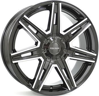 Wheel 8,5X20 CRUISER PARDIGM 5/114,3 ET40 CH73,0