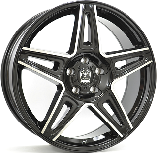 WHEEL 8,5X20 MOTIV MYTHIC 5/114/120 ET40 CB74,1